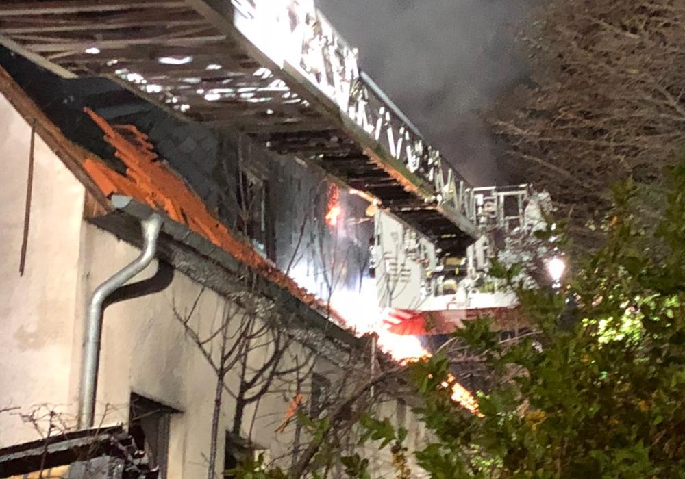 Immer wieder musste die Feuerwehr in die Walbecker Straße ausrücken. Foto: Archiv/Feuerwehr Helmstedt