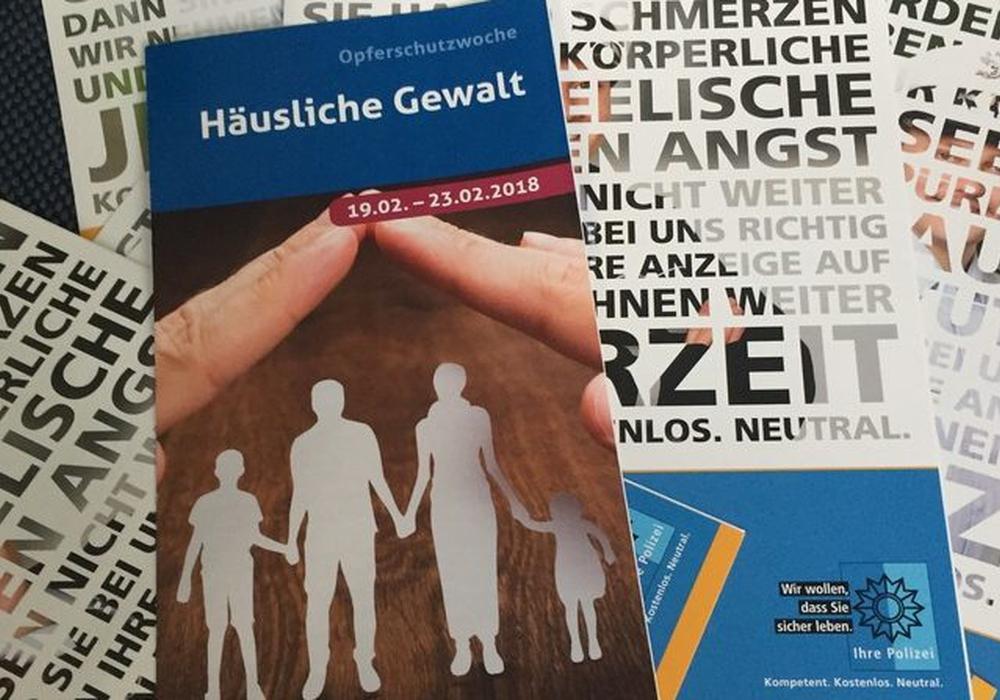 In Braunschweig ist die Opferschutzwoche gestartet. Foto: Polizei