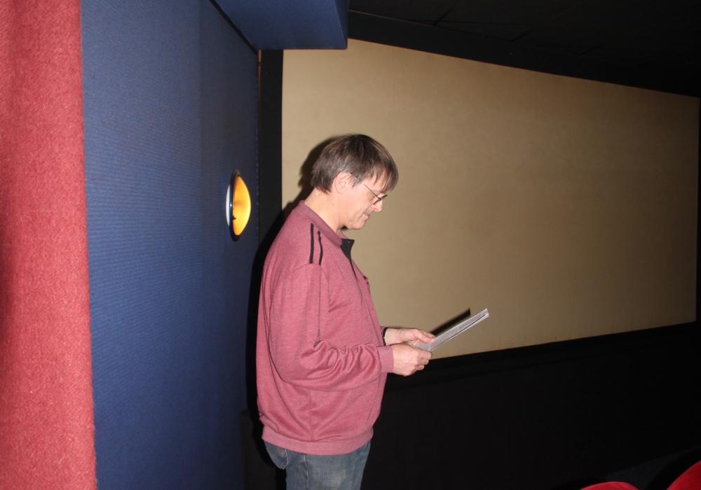 """Im Kino wurde der Film """"Kanon der kleinen Stimmen"""" gezeigt. Foto: Lutz Seifert"""