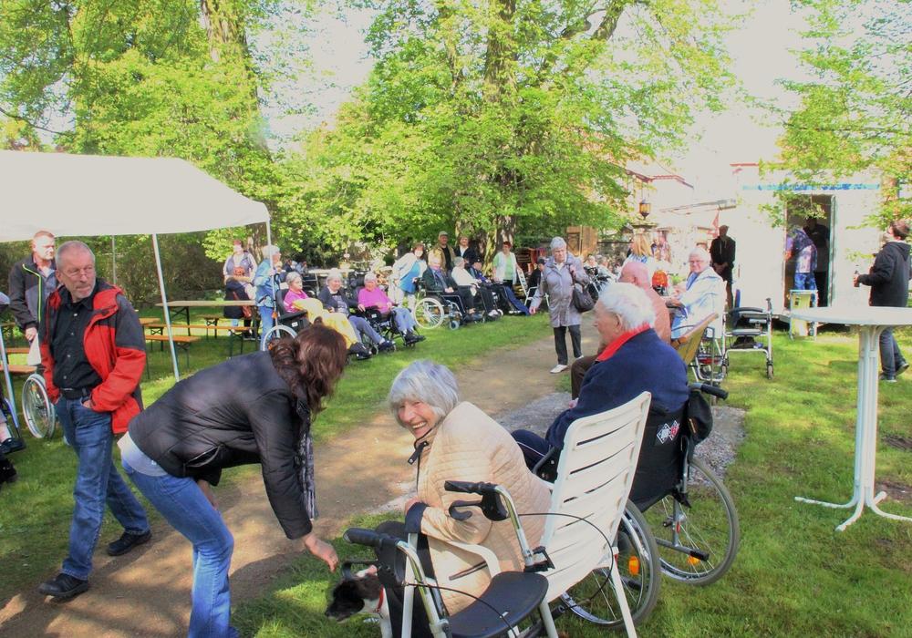 Beim Parkfest herrschte eine tolle Stimmung. Fotos: Evangelische Stiftung Neuerkerode