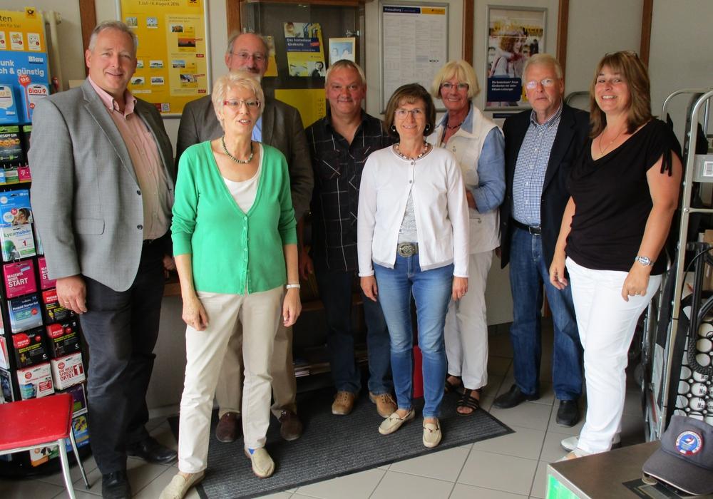 """Der CDU-Landtagsabgeordnete Frank Oesterhelweg besuchte das Geschäft """"42 am Elm"""": Foto: CDU"""