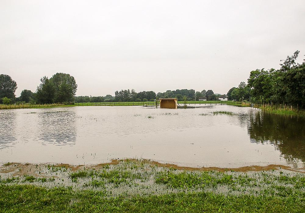Die Schäden durch Hochwasser sollen in Braunschweig minimiert werden. Symbolbild: T. Raedlein