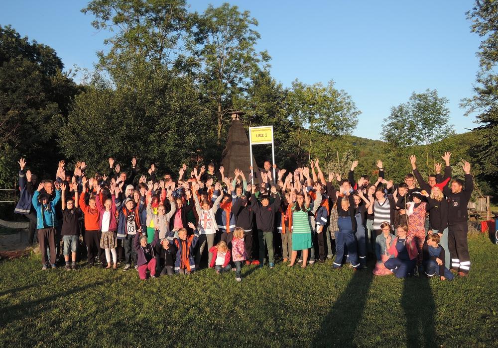 Sieben Tage Spaß und  Abenteuer im Feriencamp der Jugendfeuerwehren Lamme, Lehndorf, Rühme, Ölper, Veltenhof, Völkenrode und Watenbüttel in Neustadt/Harz (Thüringen). Foto: privat