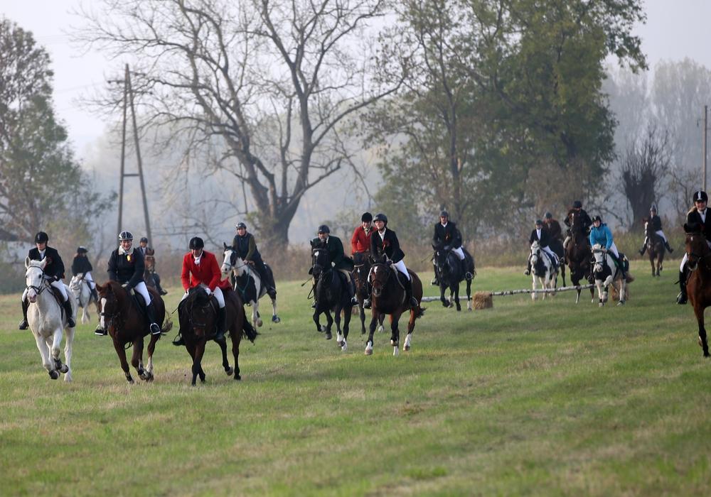 In Hornburg treten Reiter wieder zur Schleppjagd an. Foto: Privat