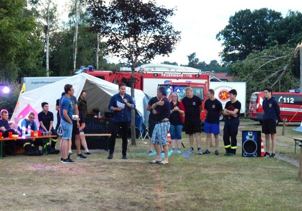 Rund 120 Jugendliche nahmen am Feriencamp der Jugendfeuerwehr teil. Fotos: Jugendfeuerwehr Braunschweig