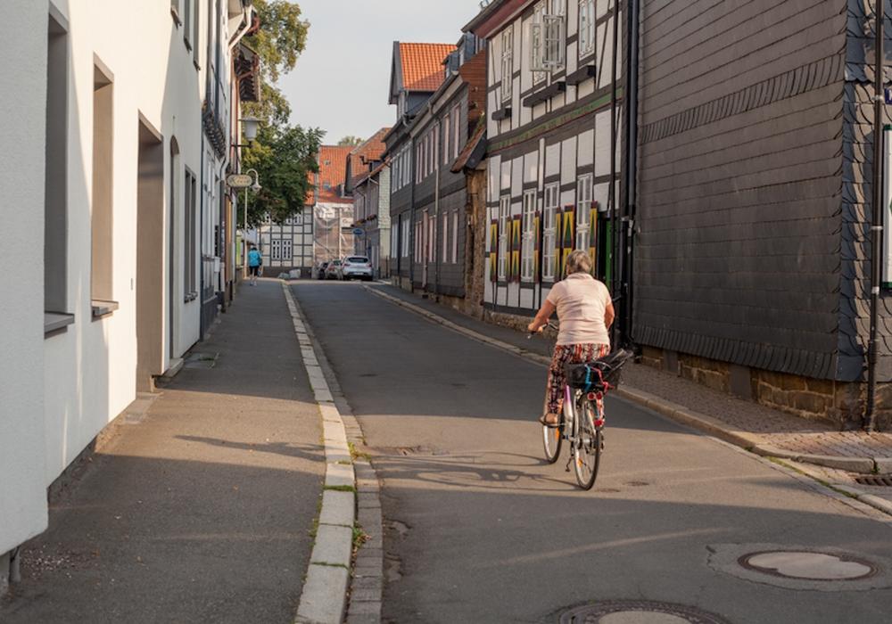 Die Domstraße. Foto: Alec Pein