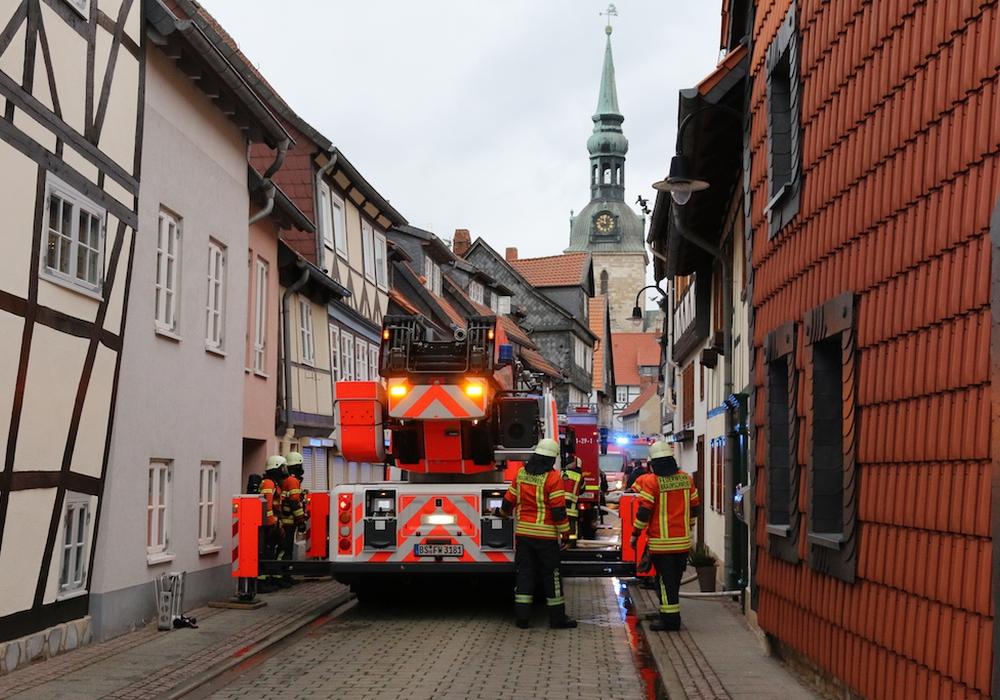 Beim Einsatz in der Wolfenbütteler Altstadt soll es zu unschönen Zwischenfällen gekommen sein. Foto: Werner Heise