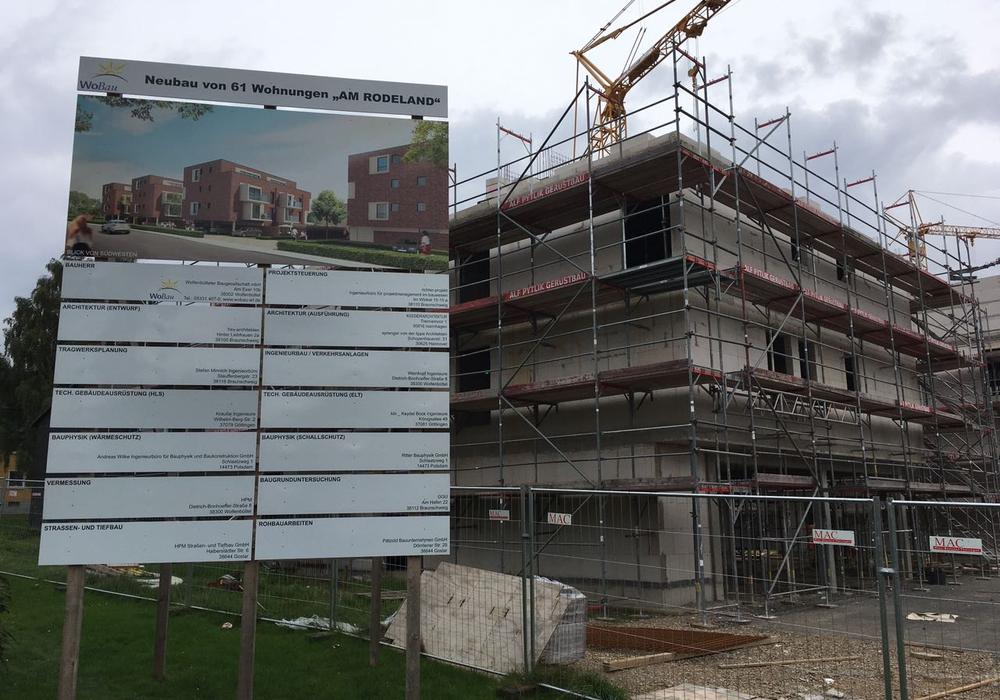 Am neuen Wohnquartier am Rodeland wurden von den Stadtwerken nun Ladestationen für Elektrofahrzeuge angebracht. Foto: Alexander Dontscheff