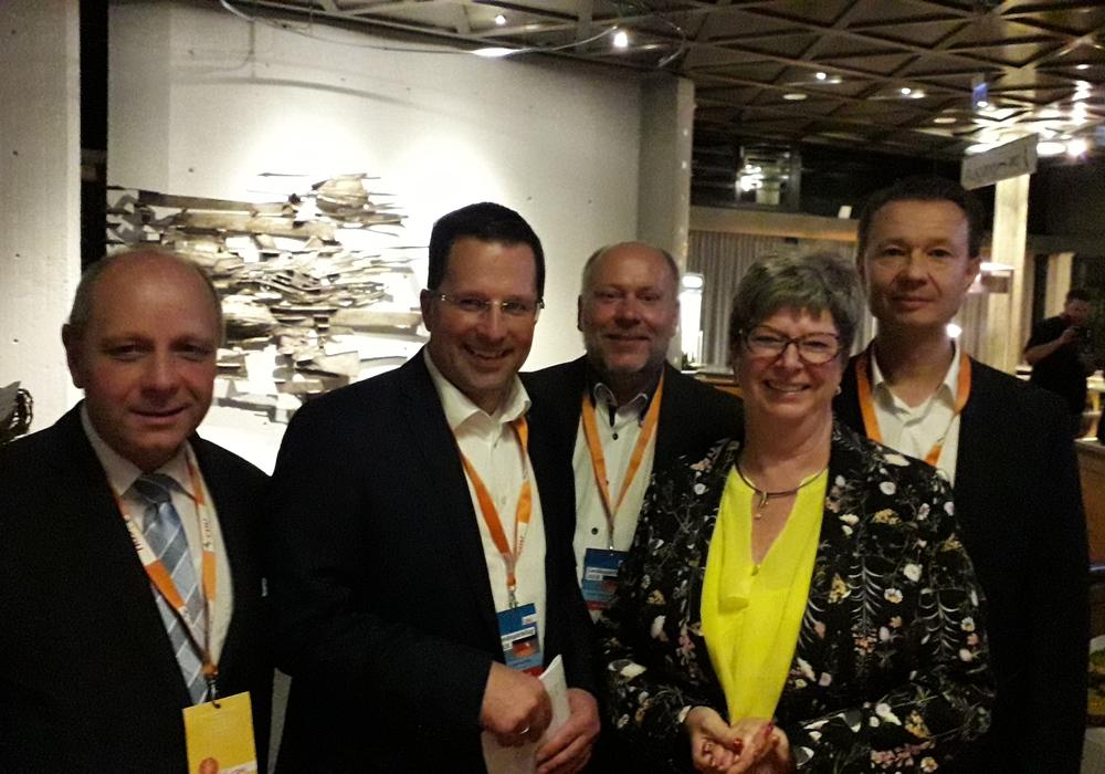 Peter Kassel, Kai Seefried (Generalsekretär der CDU in Niedersachsen), André-Georg Schlichting, Angelika Jahns und Kai Kronschnabel. Foto: CDU Kreisverband Wolfsburg