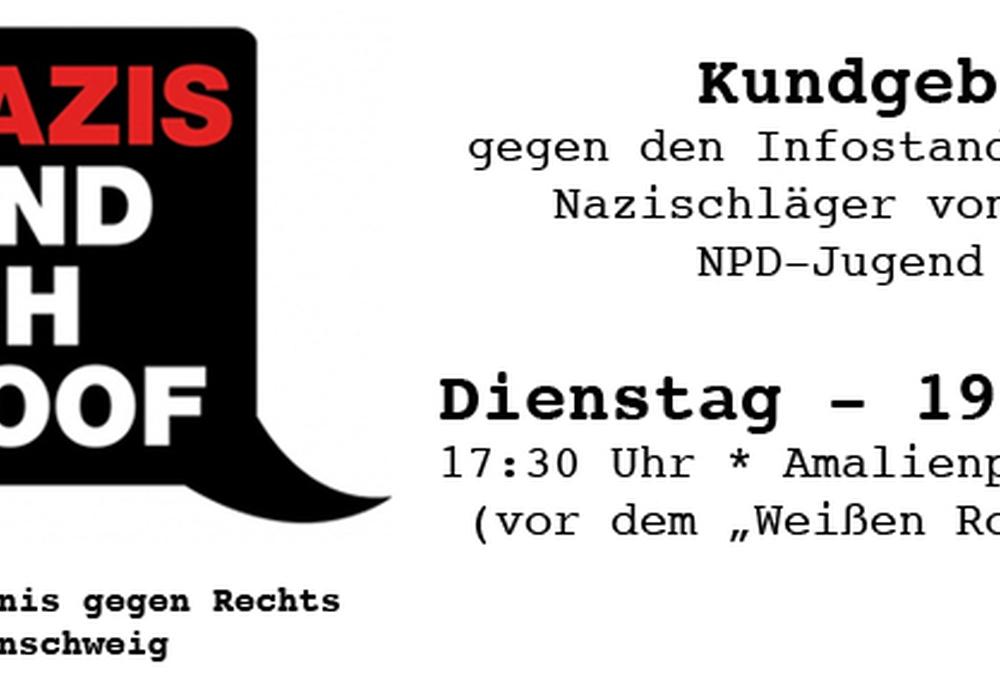Foto: Bündnis gegen rechts