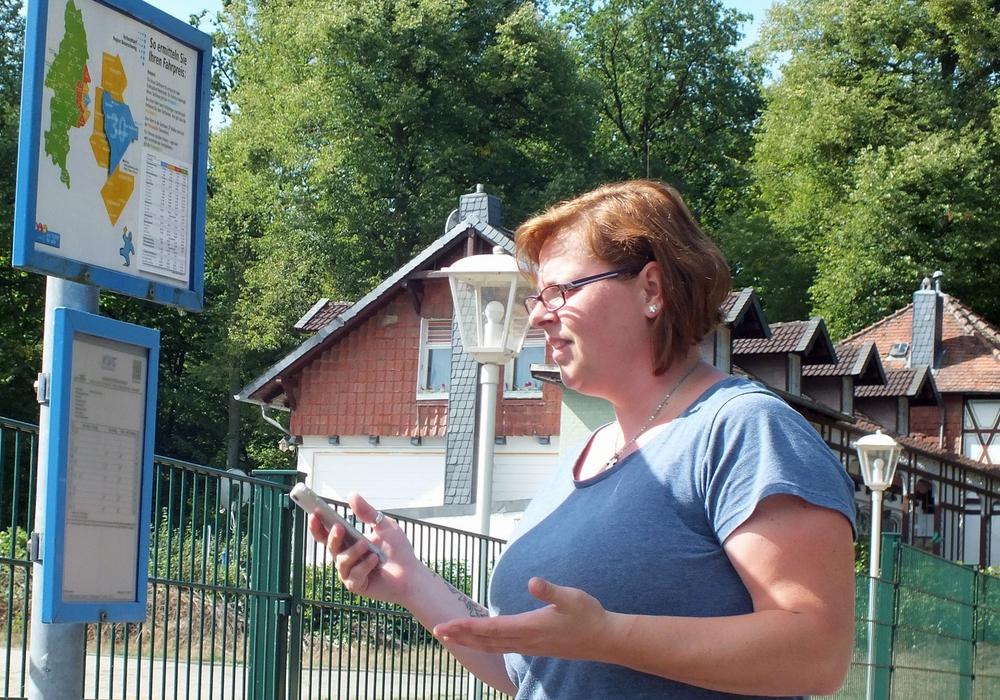 Im Brunnental fährt der Bus nur nach telefonischer Anmeldung. Mit dem Handy ist dies aber aufgrund des Funklochs nicht möglich. Foto: Achim Klaffehn