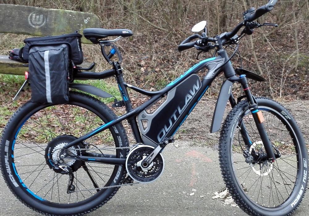 Gesuchtes E-Bike der Fa. Bulls in schwarz. Foto: Polizei Wolfsburg
