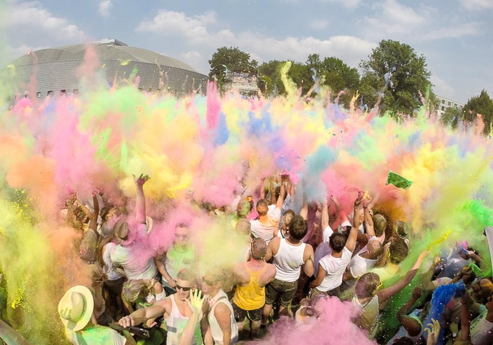 In diesem Jahr müssen die Braunschweiger im Sommer auf das Holi-Festival verzichten. Foto: Archiv/Raedlein