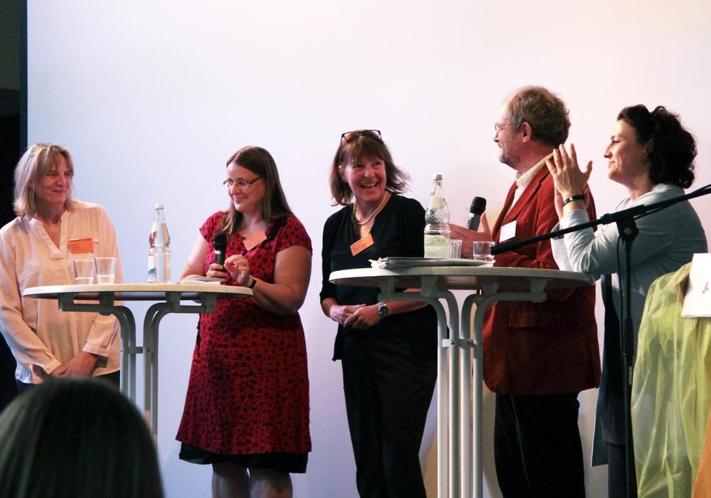 Die Podiumsdiskussion im Rahmen des Braunschweiger Palliative Care Tages. Foto: Arbeitskreis Palliative Care Braunschweig