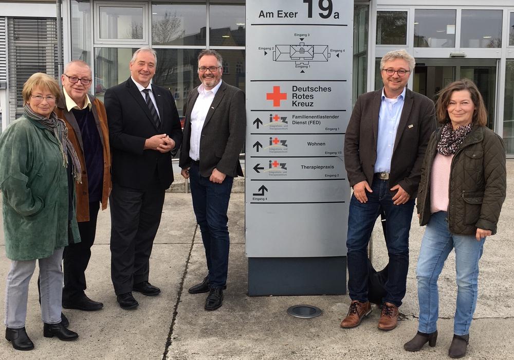 Von links: Elke Großer, Thomas Hornig, Frank Oesterhelweg, Thomas Stoch, Uwe Rump-Kahl und Heike Kanter. Foto: CDU
