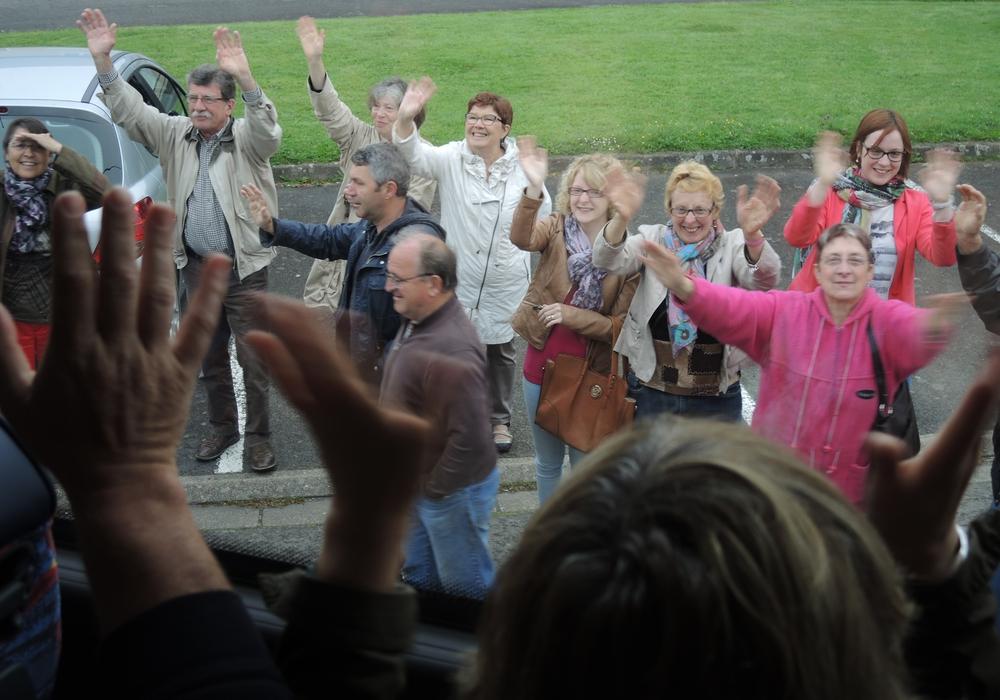 Eine Gruppe aus Wolfenbüttel reiste nach Briouze. Foto: Bothe