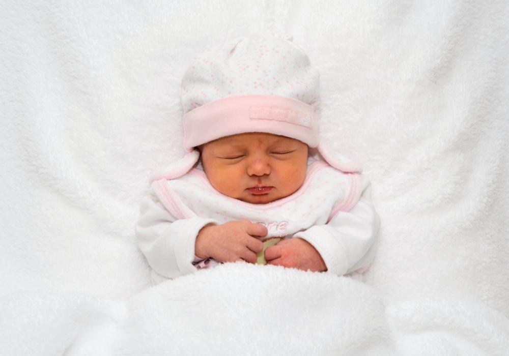 Willkommen: Annie Sophie Behrens. Foto: Babysmile24.de