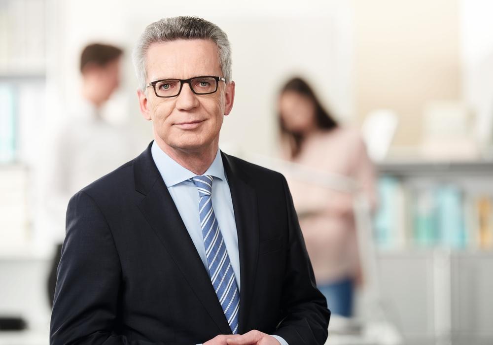 Bundesinnenminister Dr. Thomas de Maizière kommt nach Wolfenbüttel um über das Thema Leitkultur für Deutschland zu sprechen. Foto: Büro de Maizière