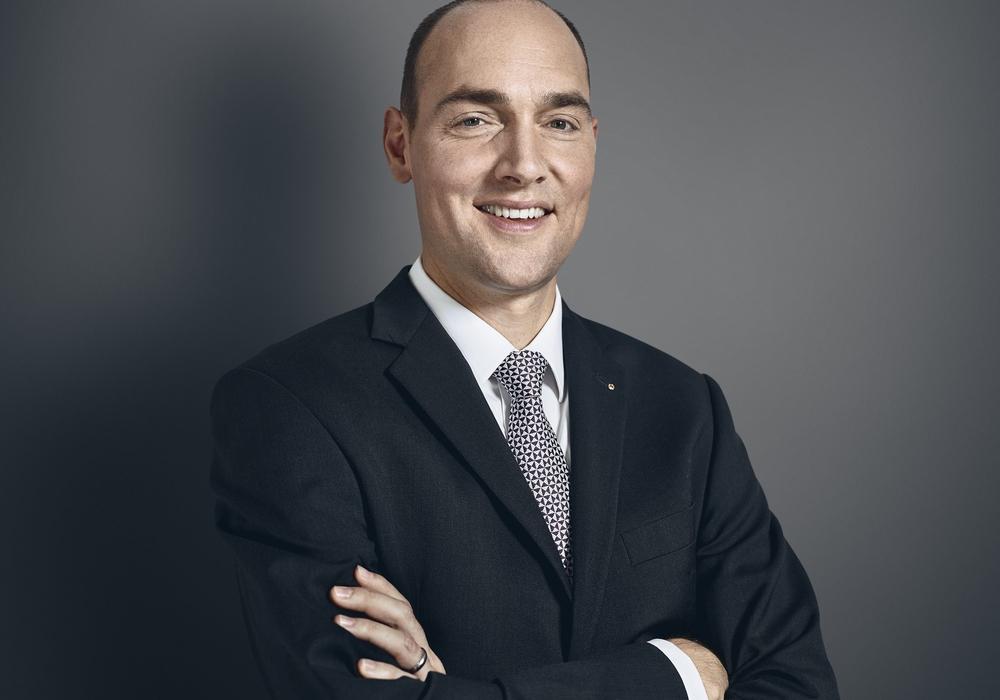 Stefan Riecher, Direktor der Braunschweiger Privatbank. Foto: Privatbank