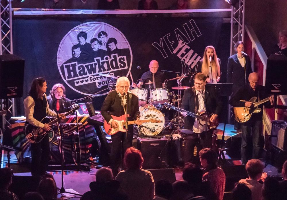 """Volles Haus bei den Auftritten der """"Hawkids"""". Fotos: Rudolf Karliczek"""