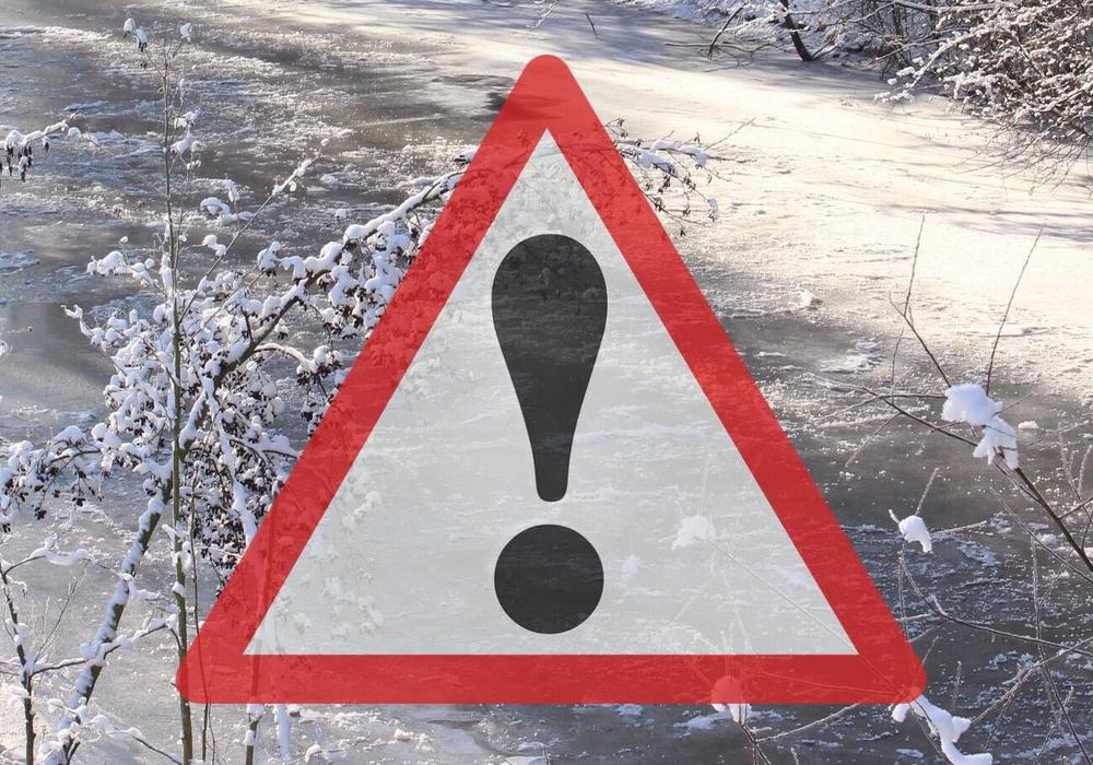 Eis, Warnung, einbrechen, Teich, See, Lebensgefahr, Symbolbild: Archiv/pixabay