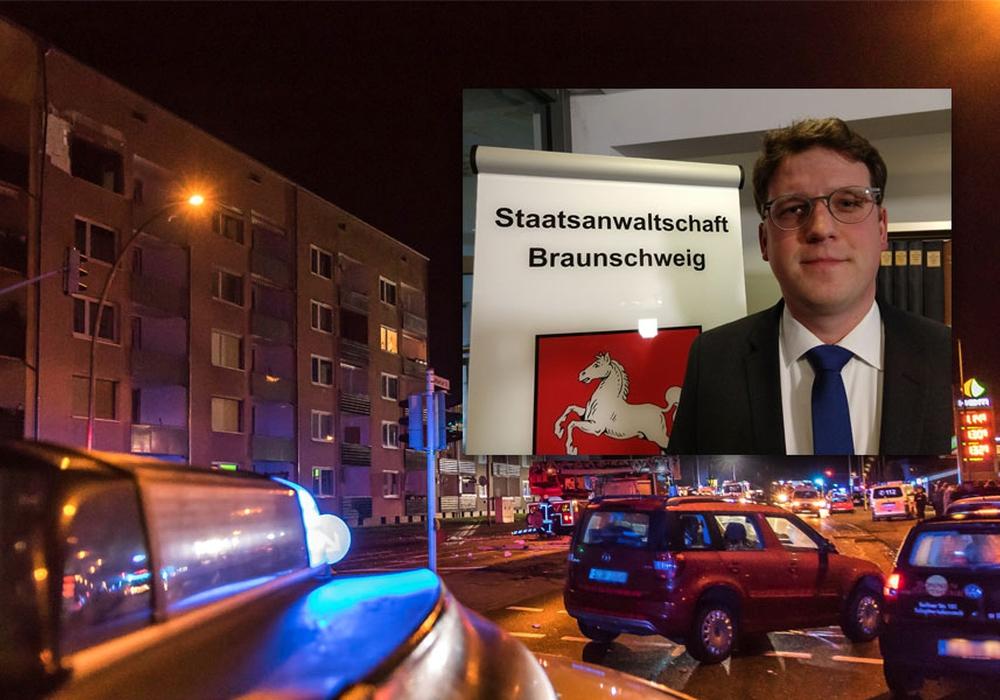 Die Staatsanwaltschaft Braunschweig ist immer noch mit den Ermittlungen zur Gasexplosion in der Kattowitzer Straße beschäftigt. Foto: Rudolf Karliczek; Werner Heise