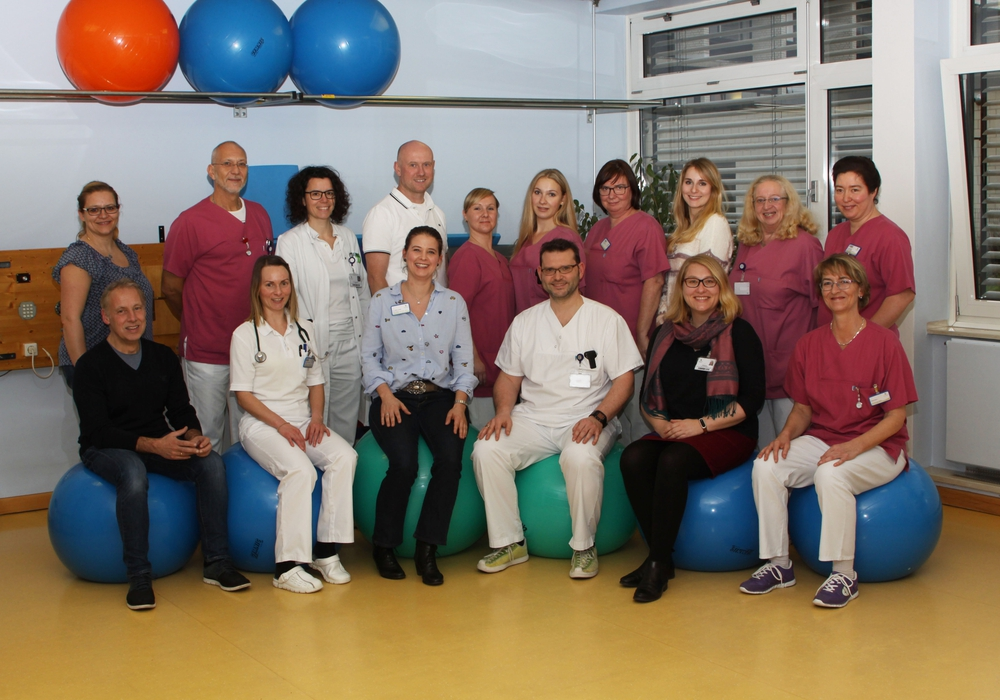 Das Team der Schmerztherapie. Foto: Klinikum Wolfenbüttel