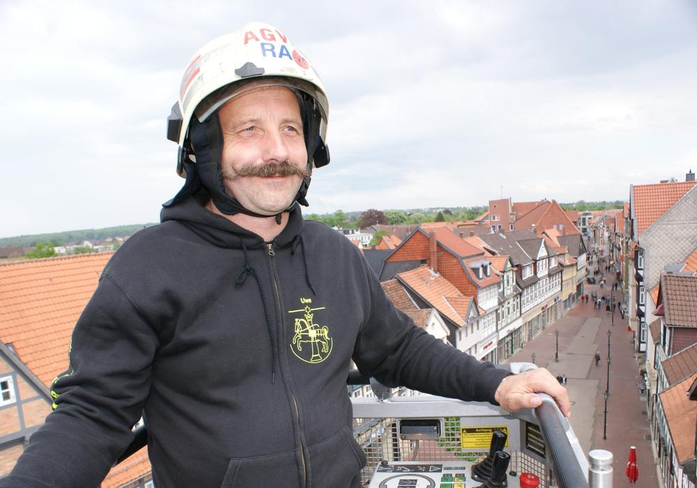 Uwe Frobart verlässt die Ortsfeuerwehr Wolfenbüttel. Der Grund sei, wie er selber angibt, Mobbing innerhalb der Wehr. Foto: Anke Donner