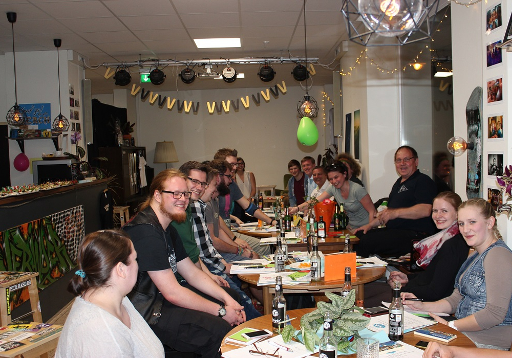Mitgliederversammlung des Stadtjugendring in der veränder.bar. Foto: Stadt Wolfenbüttel