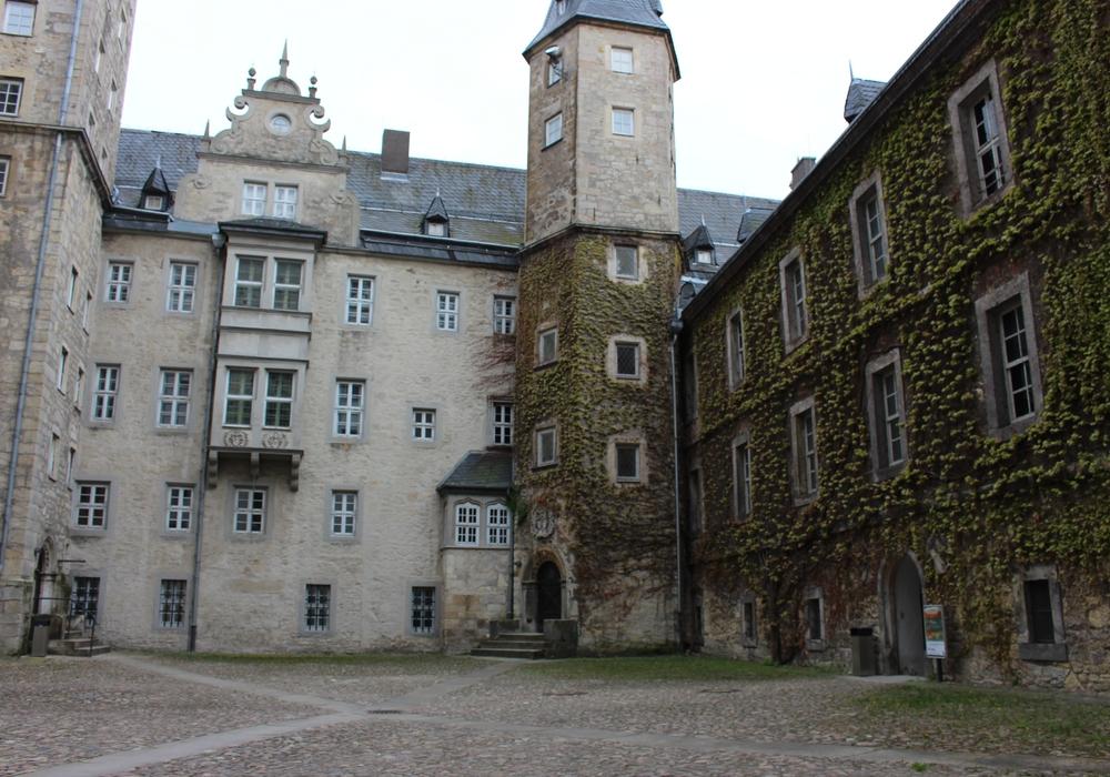 Am Schloss Wolfsburg finden einige Veranstaltungen statt. Archivbild