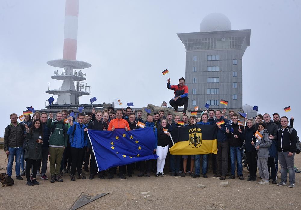 Die Junge Union Goslar wanderte zum Brocken. Foto: Junge Union Kreisverband Goslar