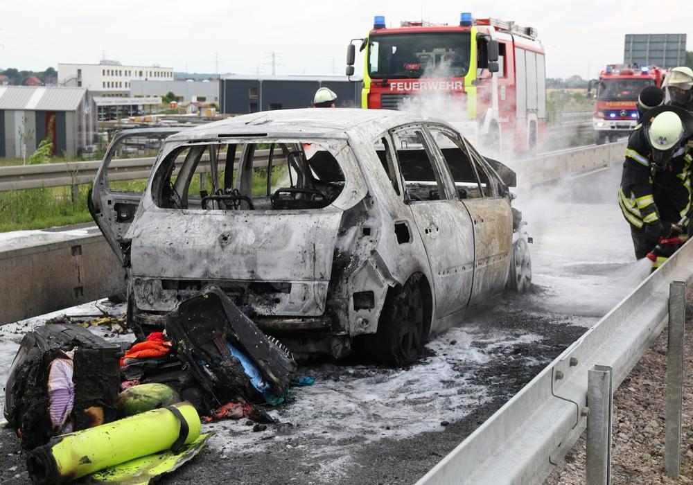 Personen kamen bei dem Brand nicht zu Schaden. Foto: Karliczek