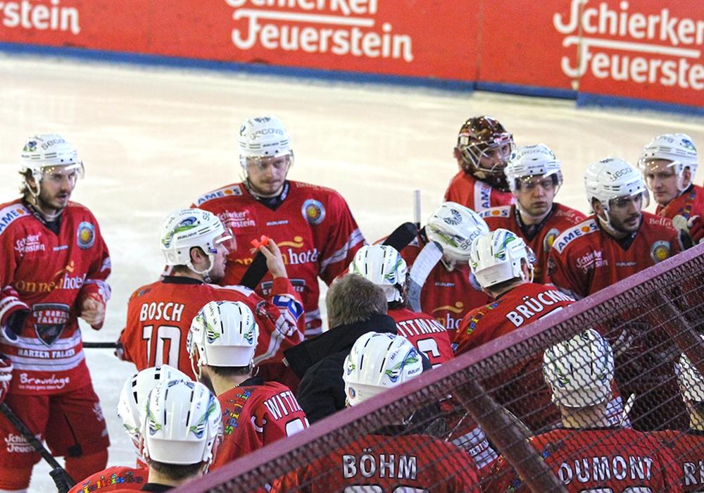 Eishockeysamstag in Bad Harzburg. Foto: Frank Vollmer