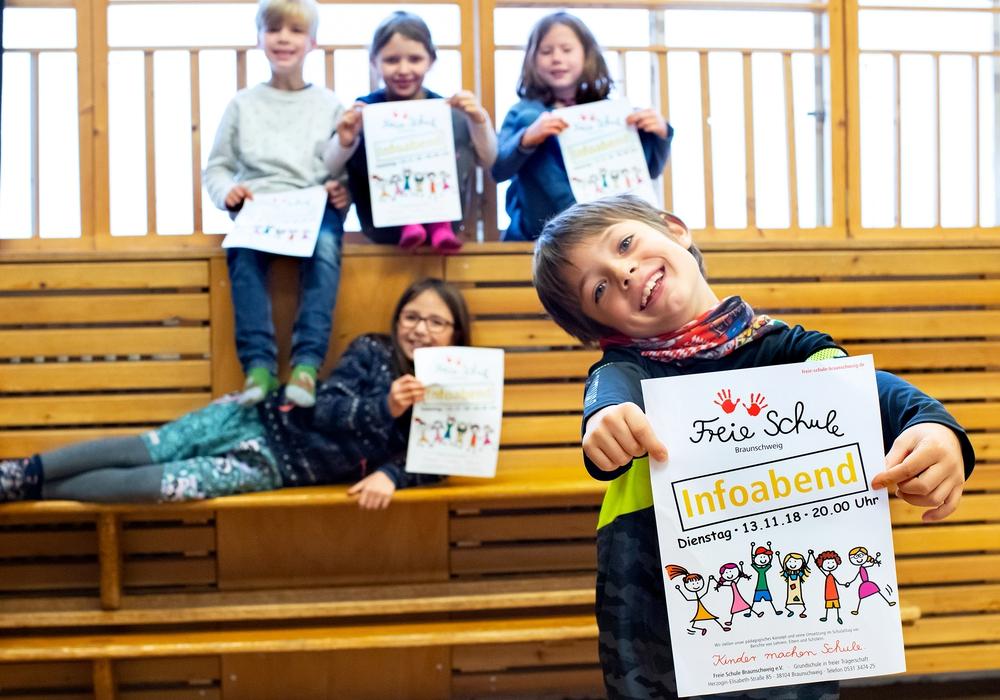 Am 13. November 2018 sind um 20 Uhr alle eingeladen, die sich über das besondere pädagogische Konzept der Schule informieren möchten. Foto: Freie Schule Braunschweig e. V.