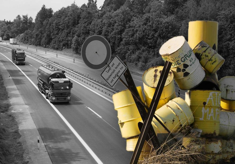 Etliche LKW mit Wasser aus der Asse könnten demnächst auf unseren Straßen bis nach Sehnde rollen. Symbolfoto: pixabay; Alexander Panknin