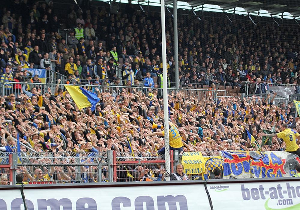 Am Samstag tritt die Eintracht zum ersten Heimspiel der Saison an. Der Gegner: 1. FC Heidenheim. Foto: Frank Vollmer