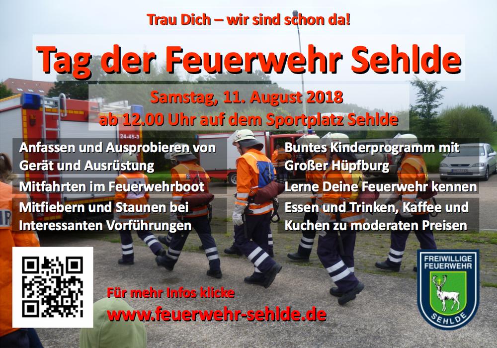 Flyer: Feuerwehr Sehlde