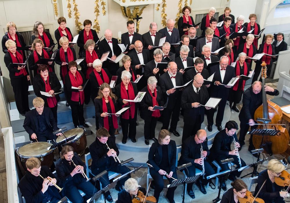 Michaelis-Chor, Foto: Johannes Kruse, Kantor an der Michaeliskirche Fallersleben