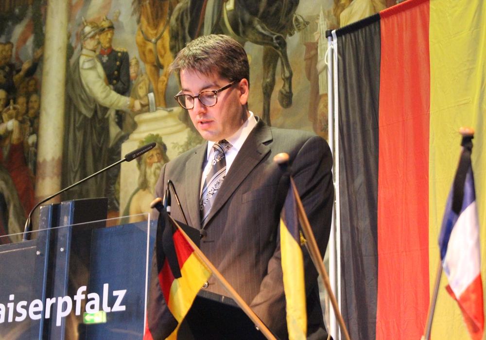 Oberbürgermeister Dr. Oliver Junk. Foto: Donner