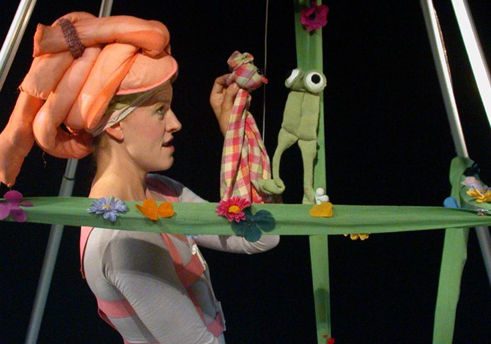 """""""Das kleine Ich bin Ich"""" wird im Theater Fadenschein gezeigt. Foto: Mario Hohmann"""