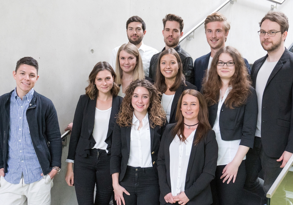 Das studentische Organisationsteam der diesjährigen Medienfachtagung in Salzgitter. Foto: Ostfalia