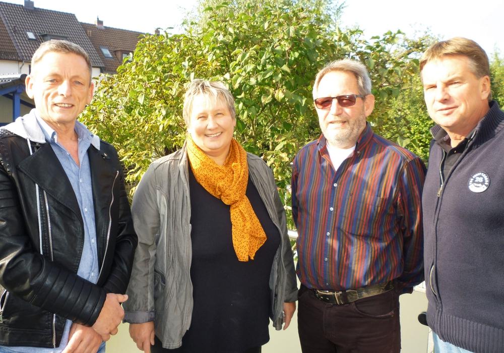 Michael Ohse und Rüdiger Wohltmann habenauf der konstituierenden Fraktionssitzung ihr Team für den Rat gebildet. Foto: privat