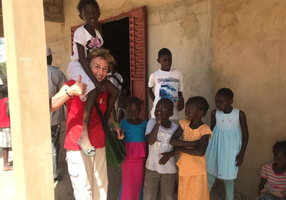 Für zwei Wochen befindet sich eine 13 köpfige Mannschaft  60 km östlich von der Landeshauptstadt Dakar im Senegal.Fotos: Peter G. Matzuga