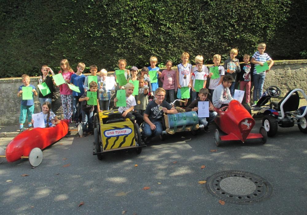 Teilnehmer beim Rennen im vergangenen Jahr. Foto: Privat