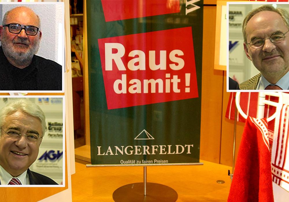 Nach 145 Jahren schließt Langerfeldt in der Braunschweiger Innenstadt. Fotomontage: André Ehlers