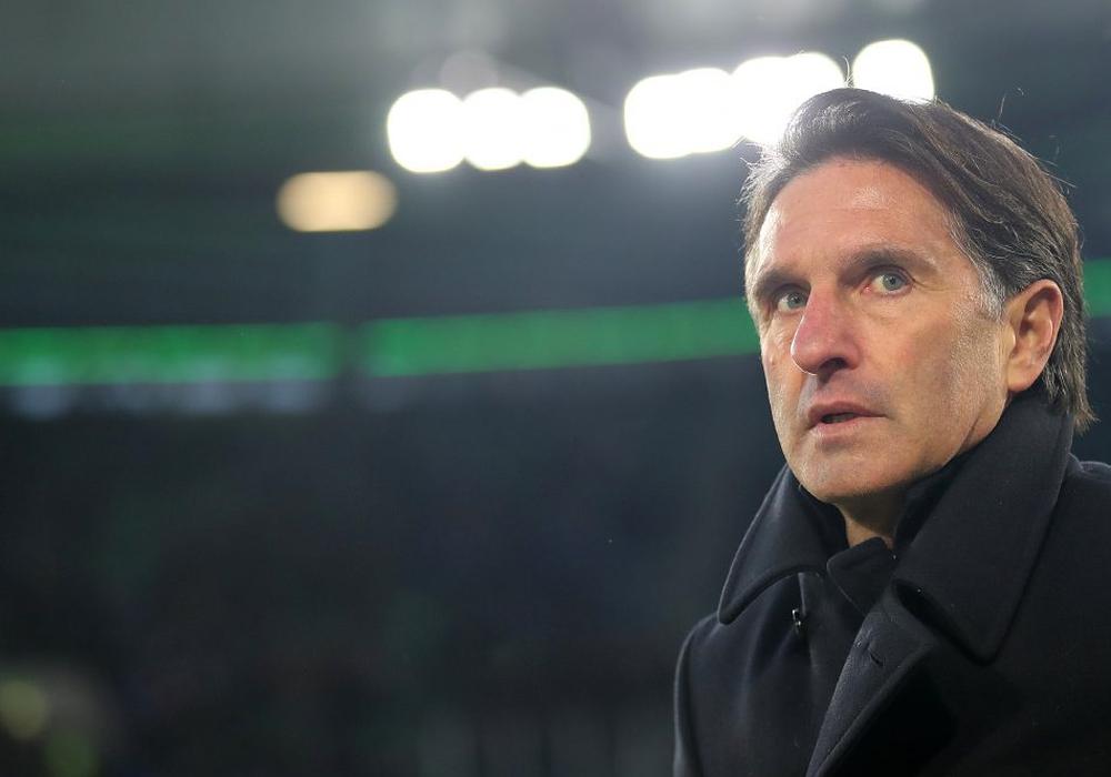 Unter Bruno Labbadia wartet der VfL immer noch auf den ersten Sieg. Foto: Agentur Hübner/Archiv