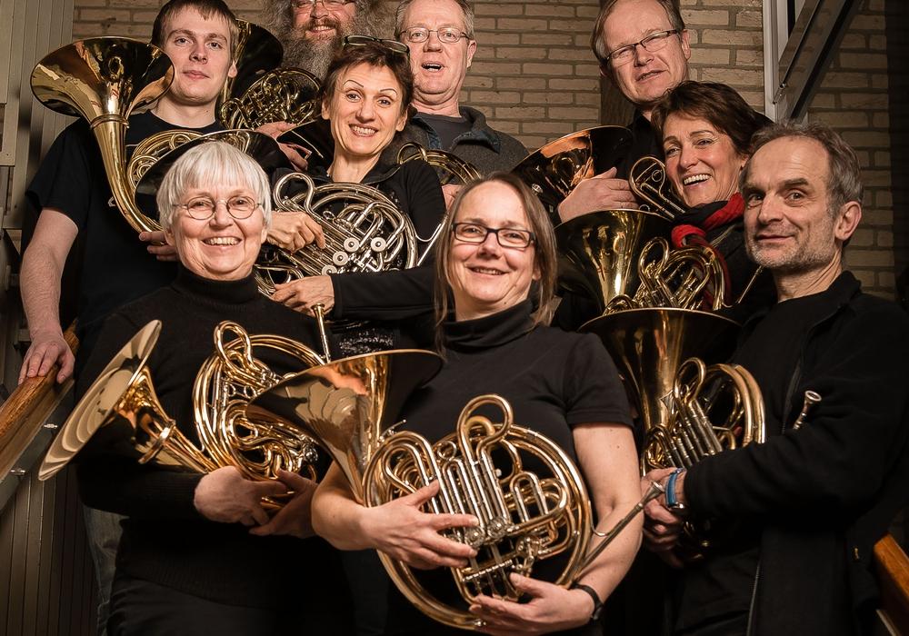 Das Hornensemble der Musikschule der Stadt Wolfsburg. Foto: Stadt Wolfsburg