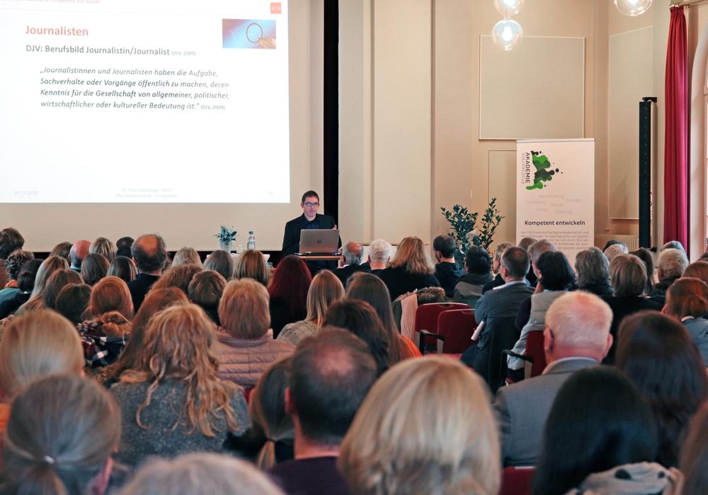 Dr. Markus Schäfer vom Institut für Publizistik der Universität Mainz. Foto: AWO Psychiatriezentrum