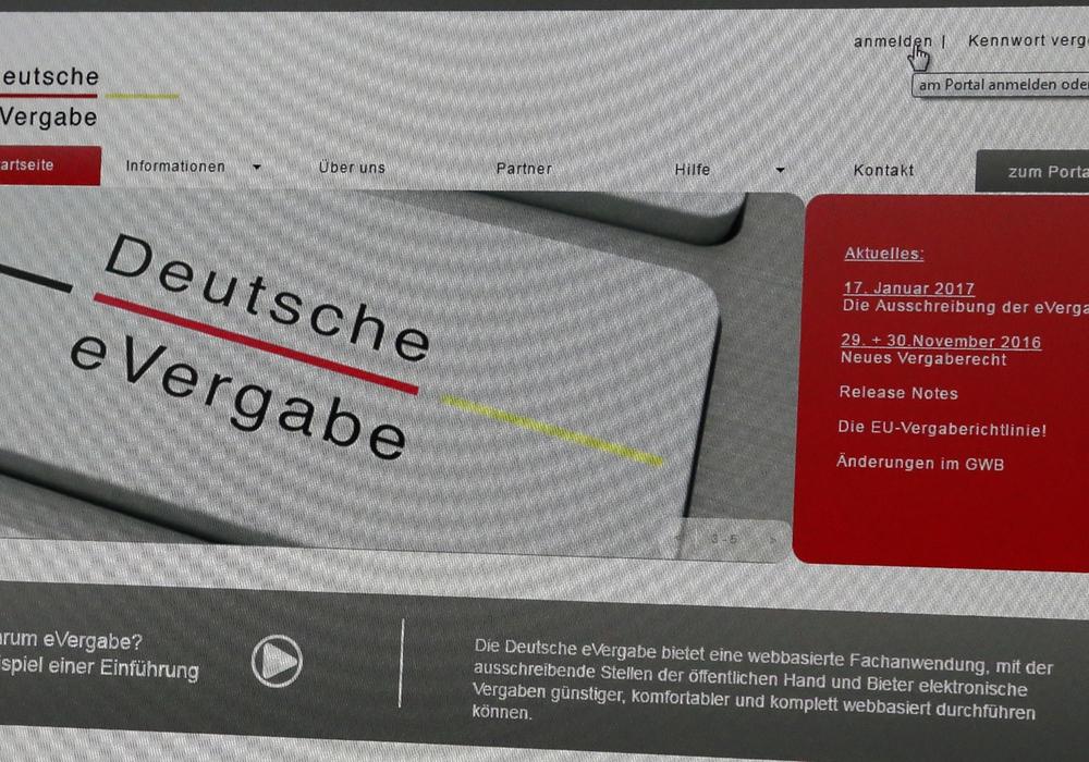 E-Vergabe soll eingeführt werden. Foto: Stadt Wolfenbüttel