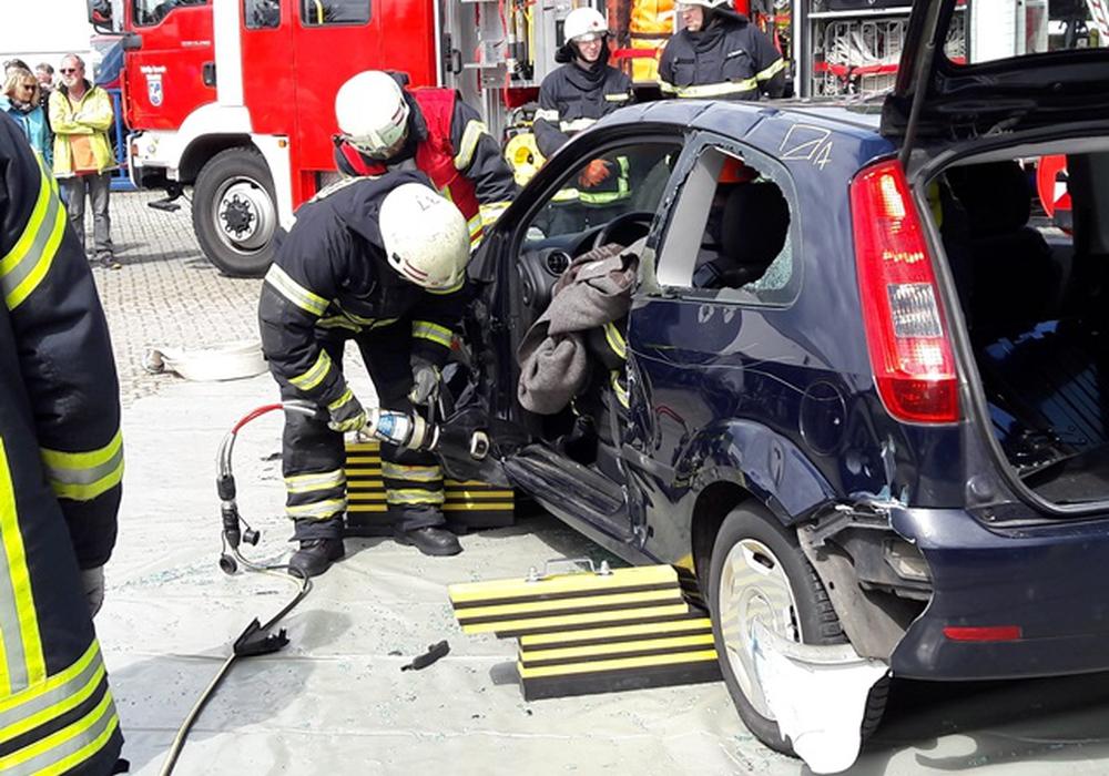 Am Sonntag ist auch die Feuerwehr bei den Mobilen Welten. Foto: Feuerwehr Wolfenbüttel